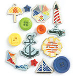 Fancy Pants Designs - Nautical Collection - Button Set