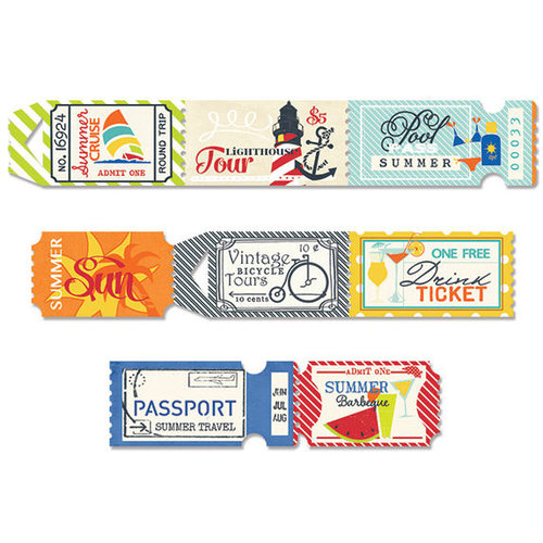 Fancy Pants Designs - Nautical Collection - Ticket Roll