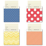 Fancy Pants Designs - Nautical Collection - Library Cards