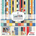 Fancy Pants Designs - Nautical Collection - 12 x 12 Collection Kit