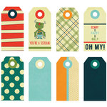 Fancy Pants Designs - Be Different Collection - Decorative Tags - Small