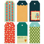 Fancy Pants Designs - Be Different Collection - Decorative Tags - Large