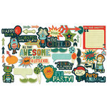 Fancy Pants Designs - Be Different Collection - Ephemera Pack