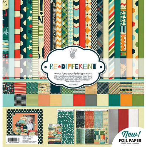 Fancy Pants Designs - Be Different Collection - 12 x 12 Collection Kit