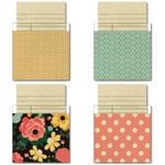 Fancy Pants Designs - Burlap and Bouquets Collection - Library Cards