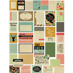 Fancy Pants Designs - Burlap and Bouquets Collection - Brag Cards