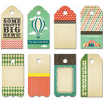 Fancy Pants Designs - Everyday Circus Collection - Decorative Tags - Small