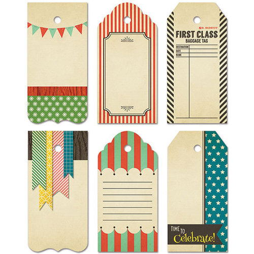 Fancy Pants Designs - Everyday Circus Collection - Decorative Tags - Large