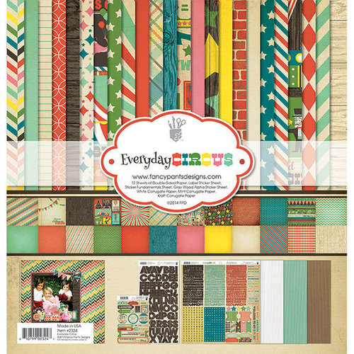 Fancy Pants Designs - Everyday Circus Collection - 12 x 12 Collection Kit