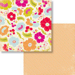 Fancy Pants Designs - Me-ology Collection - 12 x 12 Double Sided Paper - Blossomed