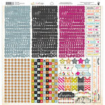 Fancy Pants Designs - Me-ology Collection - 12 x 12 Cardstock Stickers - Fundamentals