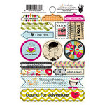 Fancy Pants Designs - Me-ology Collection - Cardstock Stickers - Labels