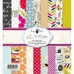 Fancy Pants Designs - Me-ology Collection - 6 x 6 Paper Pad