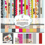 Fancy Pants Designs - Me-ology Collection - 12 x 12 Collection Kit