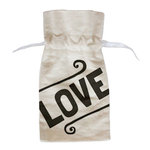 Fancy Pants Designs - Canvas Bag - Love