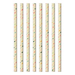 Fancy Pants Designs - Burlap and Bouquets Collection - Decorative Straws