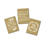 Fancy Pants Designs - Mini Kraft Journal One - 3 Pack