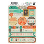 Fancy Pants Designs - True Friend Collection - Cardstock Stickers - Labels