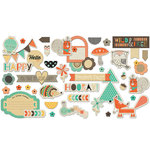 Fancy Pants Designs - True Friend Collection - Ephemera Pack