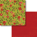 Fancy Pants Designs - Oh, Deer Collection - Christmas - 12 x 12 Double Sided Paper - Wrappings