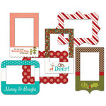Fancy Pants Designs - Oh, Deer Collection - Christmas - Patterned Photo Frames