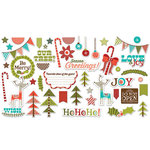 Fancy Pants Designs - Oh, Deer Collection - Christmas - Ephemera Pack