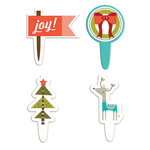 Fancy Pants Designs - Oh, Deer Collection - Christmas - Toppers