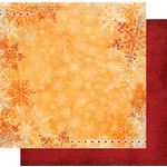 Fancy Pants Designs - Frosted Collection - Christmas - 12 x 12 Double Sided Paper - Winter Days