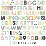 Fancy Pants Designs - Office Suite Collection - Alphabet and Number Pack