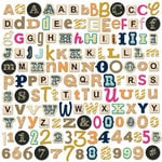 Fancy Pants Designs - Flutter Collection - Alphabet and Number Pack
