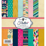 Fancy Pants Designs - Flutter Collection - 6 x 6 Paper Pad