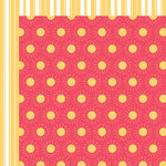 Fancy Pants Designs - Summer Sun Collection - 12 x 12 Double Sided Paper - Sunshine