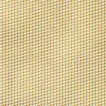 Fancy Pants Designs - Summer Sun Collection - 12 x 12 Paper with Foil Accents - Gold Houndstooth