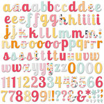 Fancy Pants Designs - Summer Sun Collection - Alphabet and Number Pack
