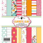Fancy Pants Designs - Summer Sun Collection - 6 x 6 Paper Pad