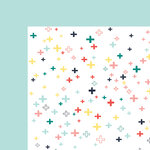 Fancy Pants Designs - Happy Place Collection - 12 x 12 Double Sided Paper - All Positive