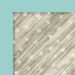 Fancy Pants Designs - Wish Season Collection - Christmas - 12 x 12 Double Sided Paper - Snowed In