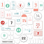 Fancy Pants Designs - Wish Season Collection - Christmas - Countdown Labels Pack