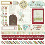 Fancy Pants Designs - Christmas Magic Collection - 12 x 12 Cardstock Stickers, CLEARANCE