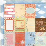 Fancy Pants Designs - Little Sprout Collection - 12 x 12 Double Sided Paper - Little Sprout Cards