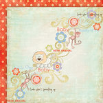 Fancy Pants Designs - Little Sprout Collection - 12 x 12 Double Sided Paper - New Arrival
