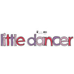 Fancy Pants Designs - Dancing Girl Collection - Glitter Cuts Transparencies - Little Dancer , CLEARANCE
