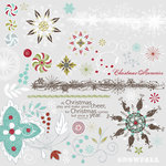 Fancy Pants Designs - Christmas Magic Collection - Rub Ons, CLEARANCE