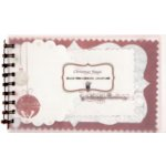 Fancy Pants Designs - Christmas Magic Collection - 5 x 8 Notebook Journal , CLEARANCE