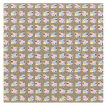 Fancy Pants Designs - Kraft Kuts Collection - 12 x 12 Patterned Paper - Tweet, CLEARANCE
