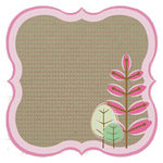 Fancy Pants Designs - Kraft Kuts Collection - 12 x 12 Die Cut Paper - Bracket Trees