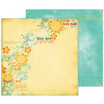 Fancy Pants Designs - Summer Soiree Collection - 12 x 12 Double Sided Paper - Sunkissed, CLEARANCE
