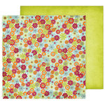 Fancy Pants Designs - Delight Collection - 12 x 12 Double Sided Paper - Bunches
