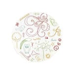 Fancy Pants Designs - On a Whimsey Collection - 10 x 10 Clear Acrylic Circle Stamps