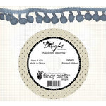 Fancy Pants Designs - Delight Collection - Ball Trim Ribbon - 25 Yards - Blue